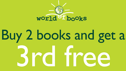 Buy 2 Books, get a 3rd FREE!