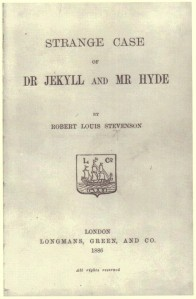 Jekyll and Hyde Title Page