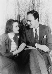 Dahl with his first one Patricia Neal